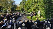 Ansprache von Josef Klein am Denkmal der Billeder in Karlsruhe