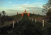 Am Kalvarienberg vor Sonnenuntergang
