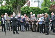 Der Chor der Banater Schwaben Karlsruhe unter der Leitung von Hannelore Slavik singt seit Jahrzehnten bei den Feierlichkeiten vor dem Denkmal der Billeder