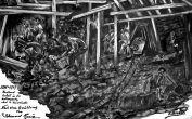 In der Kohlengrube bei Kriwojrog