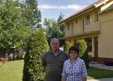 Adi und Roswitha Csonti, die Verwalter unseres Heimathauses