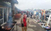 Begegnung mit Sepp Freer auf dem Lovriner Markt