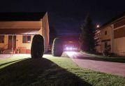 Ankunft im Heimathaus am späten Abend