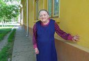 Theresa Weber ein Tag nach ihrem 95. Geburtstag