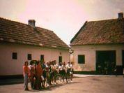 Feierlicher Empfang der Gäste aus Rostock in der Billeder alten Schule