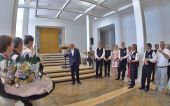 Empfang durch Oberbürgermeister Ivo Gönner