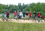 Gruppenbild am Rhein