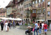 Stein am Rhein mit wunderschöner Altstadt