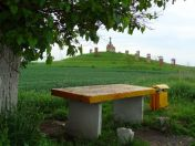 Einladung zum Picknick vor dem Kalvarienberg