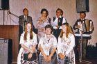 Billeder Heimattreffen in Salzburg am 06.06.1981. Am Akkordeon Johann Mathis