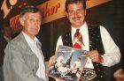 Johann Mathis mit Norbert Rier von den Kastelruther Spatzen 1990
