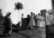 Auf dem Kalvarienberg in der Zwischenkriegszeit