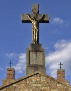 Kreuz auf dem Kalvarienberg.